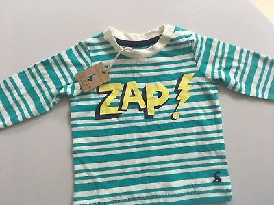 Joules Baby Top Size 6-9 Months NEW