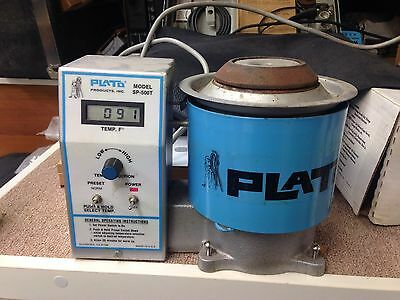 Plato Products Precision ESD Solder Pot SP-500T  350w 925 F. Great for sinkers