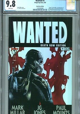 Wanted #1 CGC 9.8 Death Row Edition Image Top Cow 2004