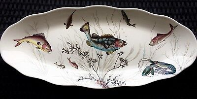 Very Rare 65cm Johnson Bros Brothers Fish Platter Serving Plate