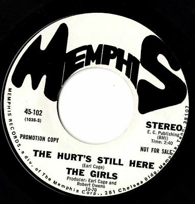 Soul northern soul popcorn Girls The hurt still 's here MINT