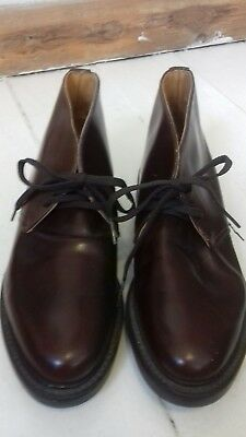 Sam Walker London womens brown leather ankle boots size 6.5.Made in England.