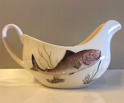 Gravy Boat Fish By Johnson Brothers Bros Sauce Jug England