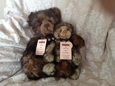 Snuggle And Wurve You Charlie Bears 2129 Of 6000 Limited Edition
