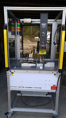 Toman Thermosonics 2020 Thermal Welding Heat Staker Complete System