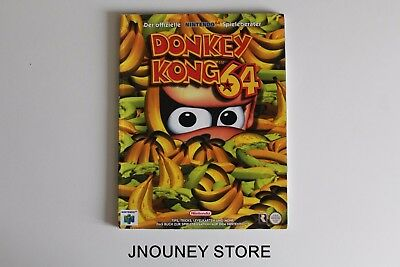 Guide Officiel Donkey Kong 64 Allemand Lösungsbuch Nintendo Deutsch