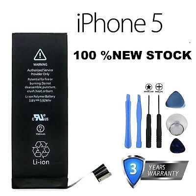 NEW GENUINE REPLACEMENT BATTERY FOR IPHONE 5 HIGH CAPACITY 1440mAH
