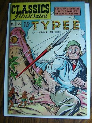classics illustrated #36 Typee HRN64  cond. VF