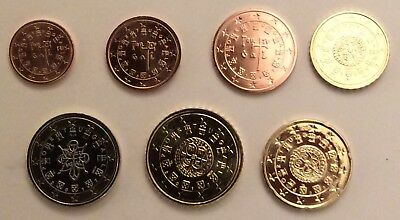Portugal 2017 - Set of 7 coin for circulation