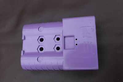 Forklift Heavy Duty Power Connectors SBE320 PURPLE #2 AWG 320A AWG CONT E6335G6