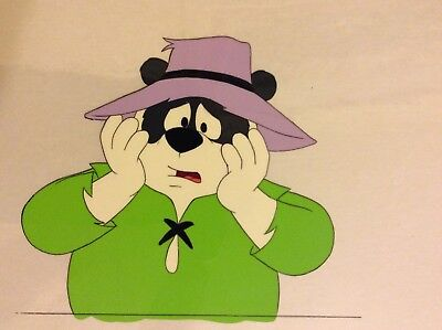 Original Animation Art Cel AND Production Art From Hanna-Barbera Cartoon Series