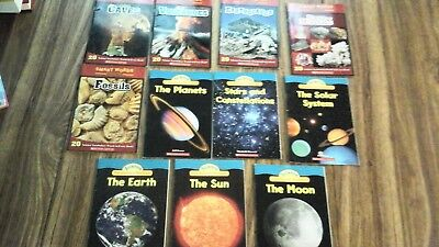 Lot of 18 books:Smart Words Readers,Science Vocabulary Readers,Kids National Geo