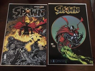 Spawn Comic Book Lot Of 2 Comics # 99, # 143