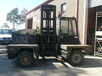 Boss Sideloader Forklift Side Loader --5 ton - small and manoeuvrable-negotiable