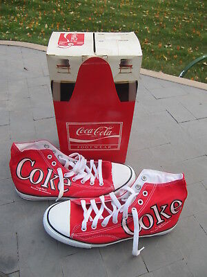 Coca-Cola  High Top Sneakers. Mens Size 9. Never Worn