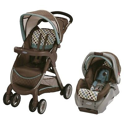 Graco® FastAction Fold® Click Connect™ Travel System - DAKOTA