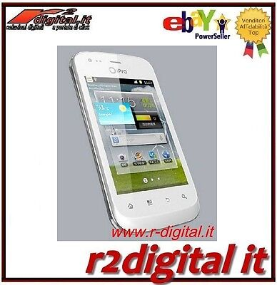Smartphone Ipro 9350 Android Umts 3,5 Capacitif Noir Blanc Cellulaire HD Amoled
