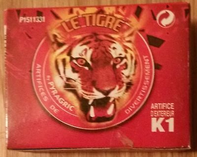Le Tigre Bangers Fire Crackers - 4 x 50 Pack (3 + 1 FREE!)