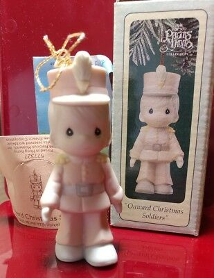 Precious Moments Onward Christmas Soldiers 527327 w/ box