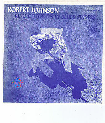 "Robert Johnson ""King Of The Delta Blues Singers"" Record Album Print Advert"