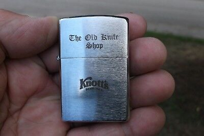 ZIPPO Lighter from Knott's Berry Farm Marked The old Knife shop New Unused