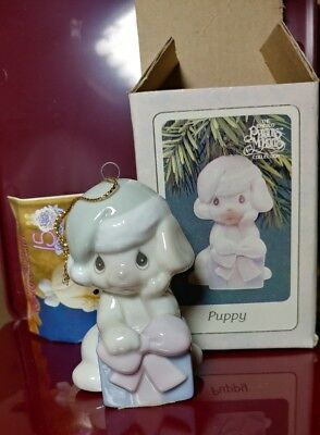 Precious Moments Puppy 339334 W/ box 1994