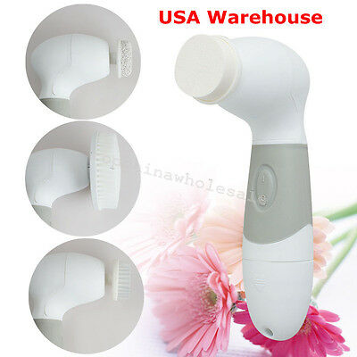 USA Remove Facial Cleansing Brush System Face Body Cleansing Wrinkles Brush