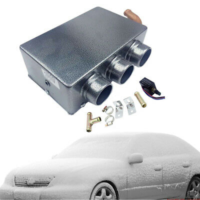 3 Hole 80w Metal Car Vehicle Heating Cooling Heater Defroster Demister Winter Low Price Parts & Accessories