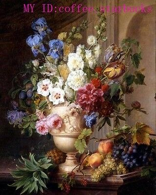 """Art Repro oil painting:""""beautiful flower fruit at canvas"""" 24x36 Inch #002"""
