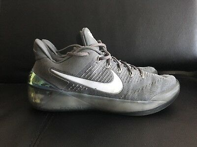 Nike Kobe A.D. SIZE 10 Cool Grey Ruthless Precision 852425-010 AD CHROME  SILVER