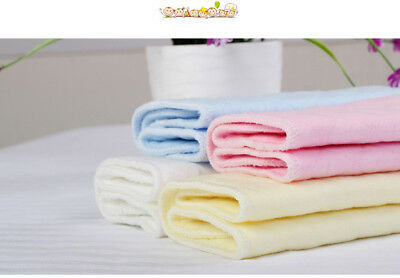 #2 PCS Reusable Baby Cloth Diaper Nappy Liners insert 3 Layers Cotton TICA