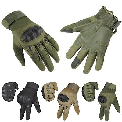 Men Military Tactical Outdoor Gloves Motorcycle Hiking Touch Screen Sport Gloves