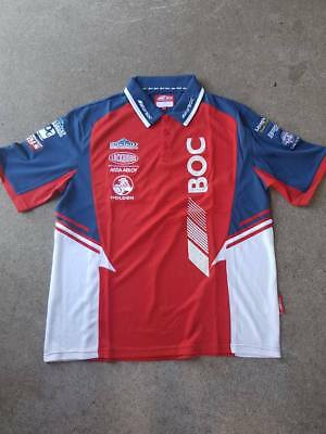 V8 Supercars Holden Racing Team BOC Team Polo Shirt Large (1)
