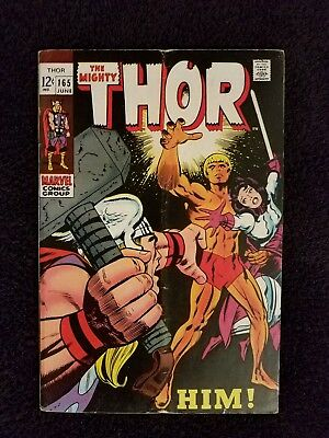 Thor 165 first appearance of Warlock!