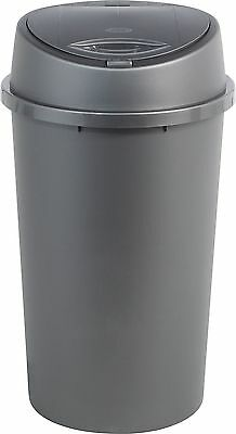 HOME 45 Litre Touch Top Kitchen Bin- Silver.From the Official Argos Shop V101165