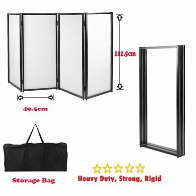 DJ Event Facade black&white Scrim Metal Frame Booth Storage Bag Light Weight BP