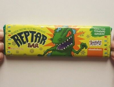 NEW Rugrats Reptar Milk Chocolate Candy Bar! In Hand FYE Exclusive!  Nickelodeon