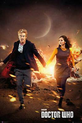 Poster DOCTOR WHO Saison 9 - 80 x 60 cm - Edition France 4 *** NEUF ***