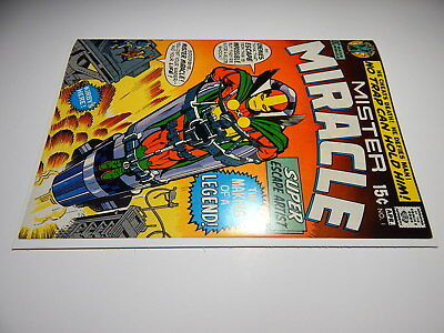 Mister Miracle #1 Nm 9.4   Jack Kirby Art   1971   1St Mister Miracle   Not Cgc