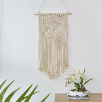 Macrame Wall Hanging Tapestry  Bohemian Handmade Crafts Ornaments Home Decor