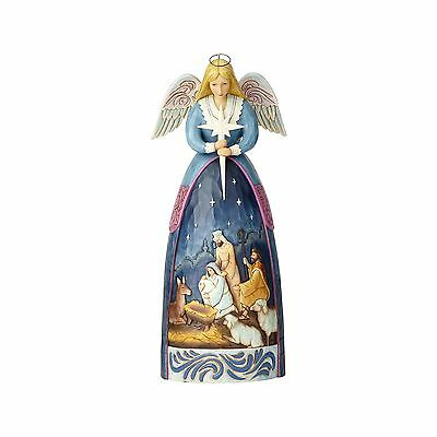 Enesco H7 Foundations Christmas Nativity 19″ Angel Figurine Statue 4059402