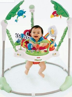 New fisher price rainforest jumperoo Christmas