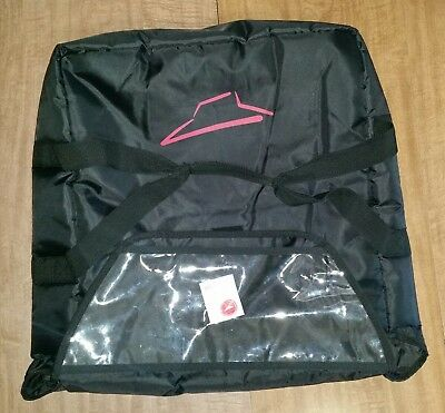 Pizza Hut insulated delivery driver bag in great shape. Additional bags offered.