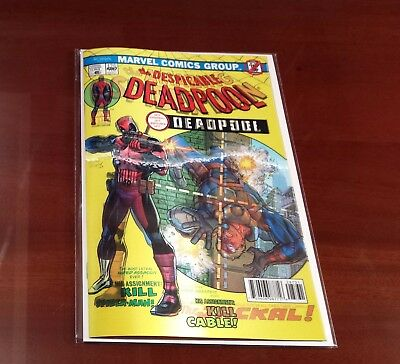 Despicable Deadpool #287 Marvel Legacy 2017 Series Lenticular Variant 9.8 NM+