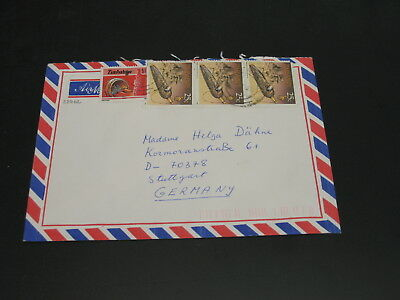 Zimbabwe 1994 airmail cover to Germany *22762