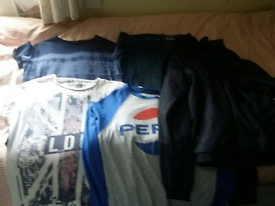 mens clothing bundle size M Inc Super Dry in VGC