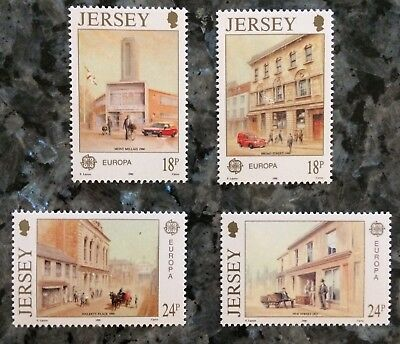 1990 Europa CEPT JERSEY.                  4 STAMPS **