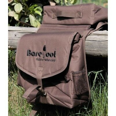Barefoot Saddle Bag 'Trail' 2-in-1 brown
