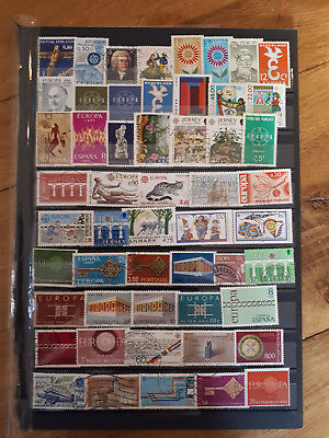 52 timbres europa (lot1)