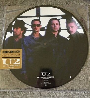 "U2 Red Hill Mining Town RSD 2017 12"" pic disc NEUF"